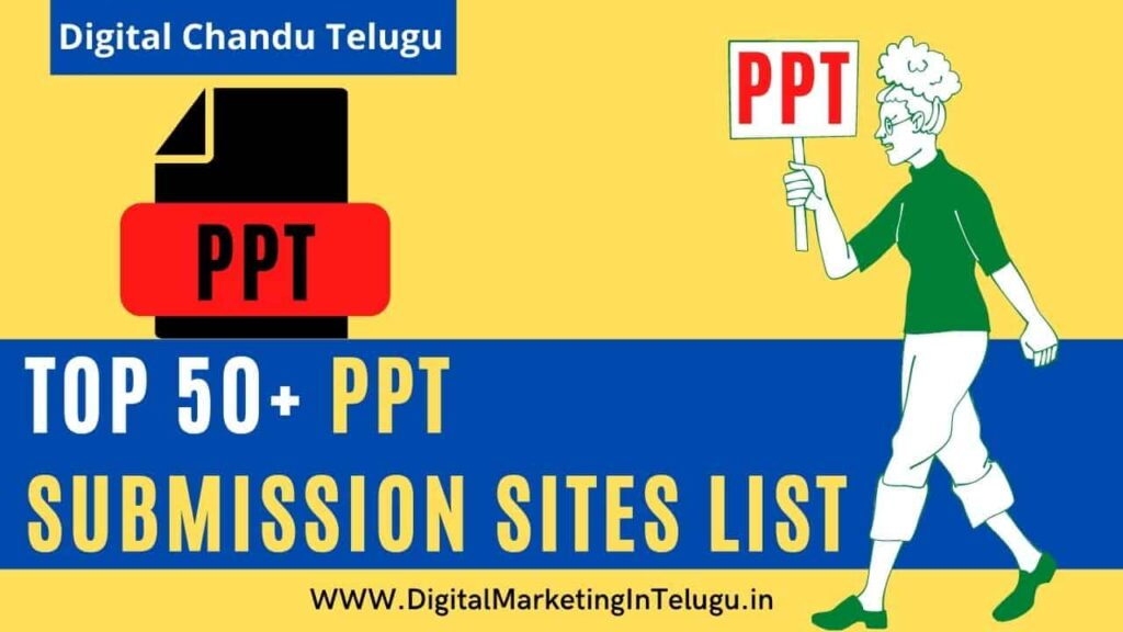 PPT-Submission-Sites-List