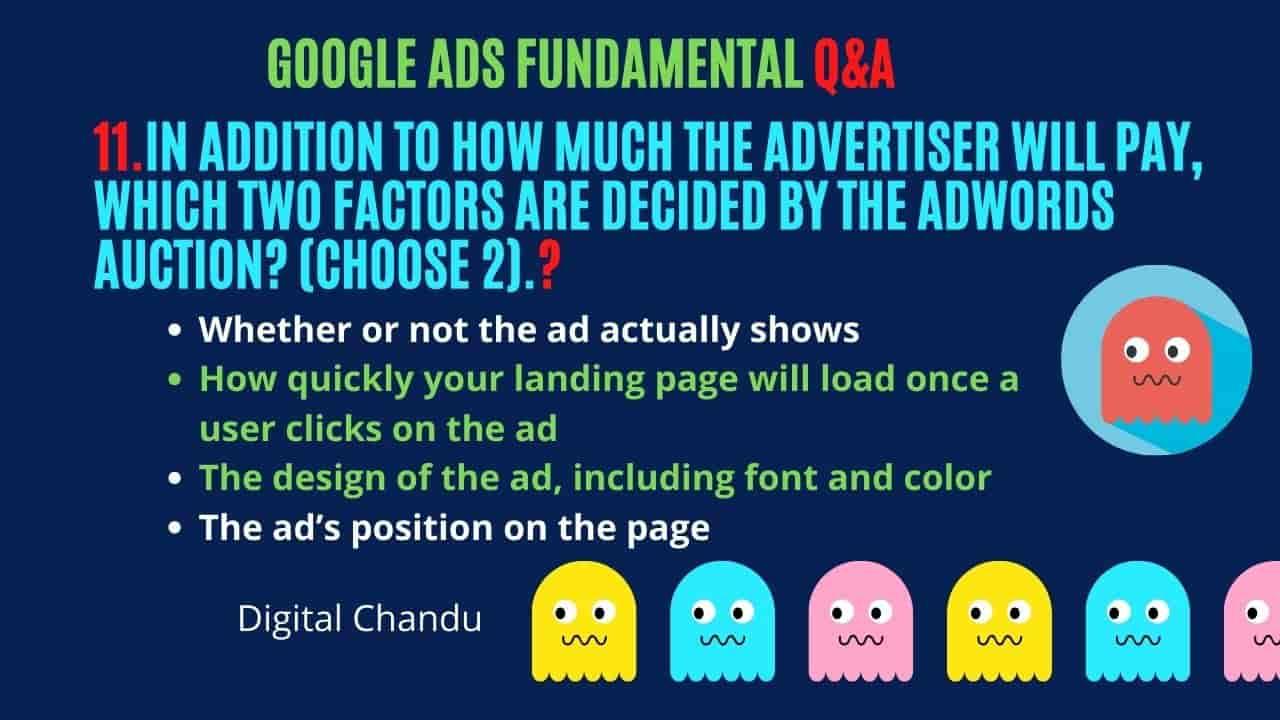 Google Ads Fundamentals Free