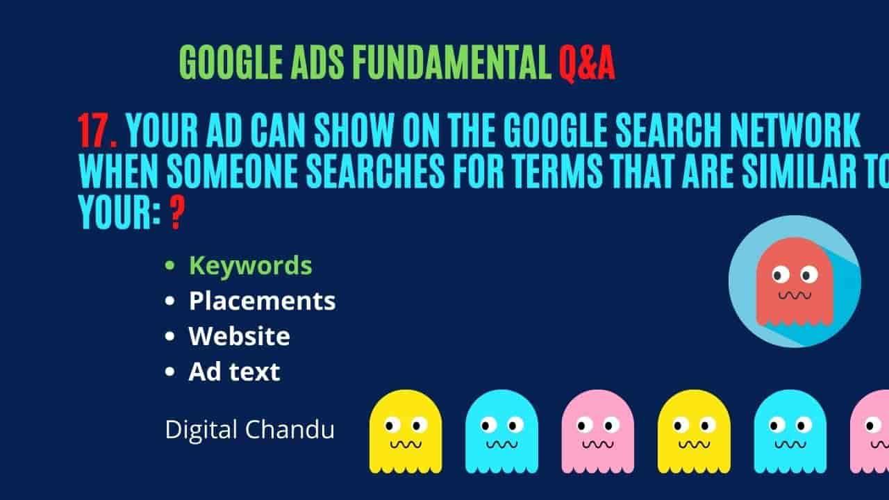 Google Ads Specialist Certification