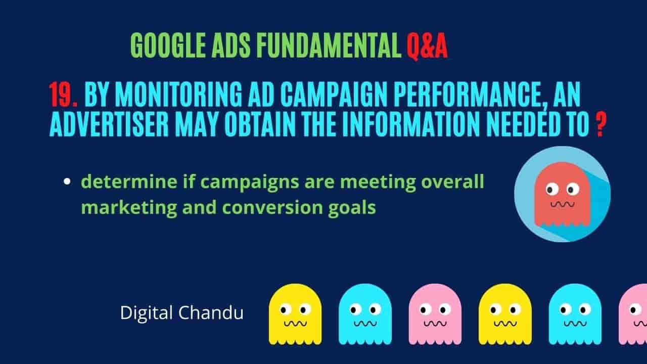 Google AdWords Advertising Exam