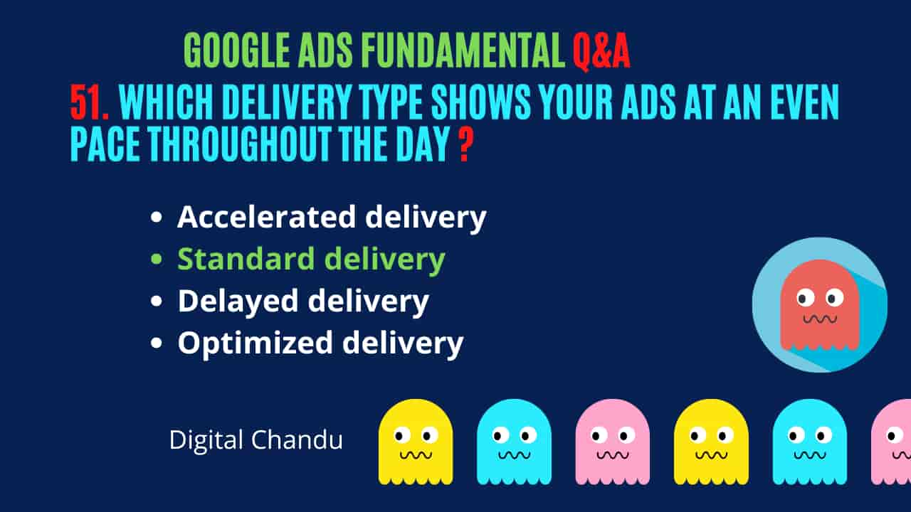 Google Ads Delivery Types