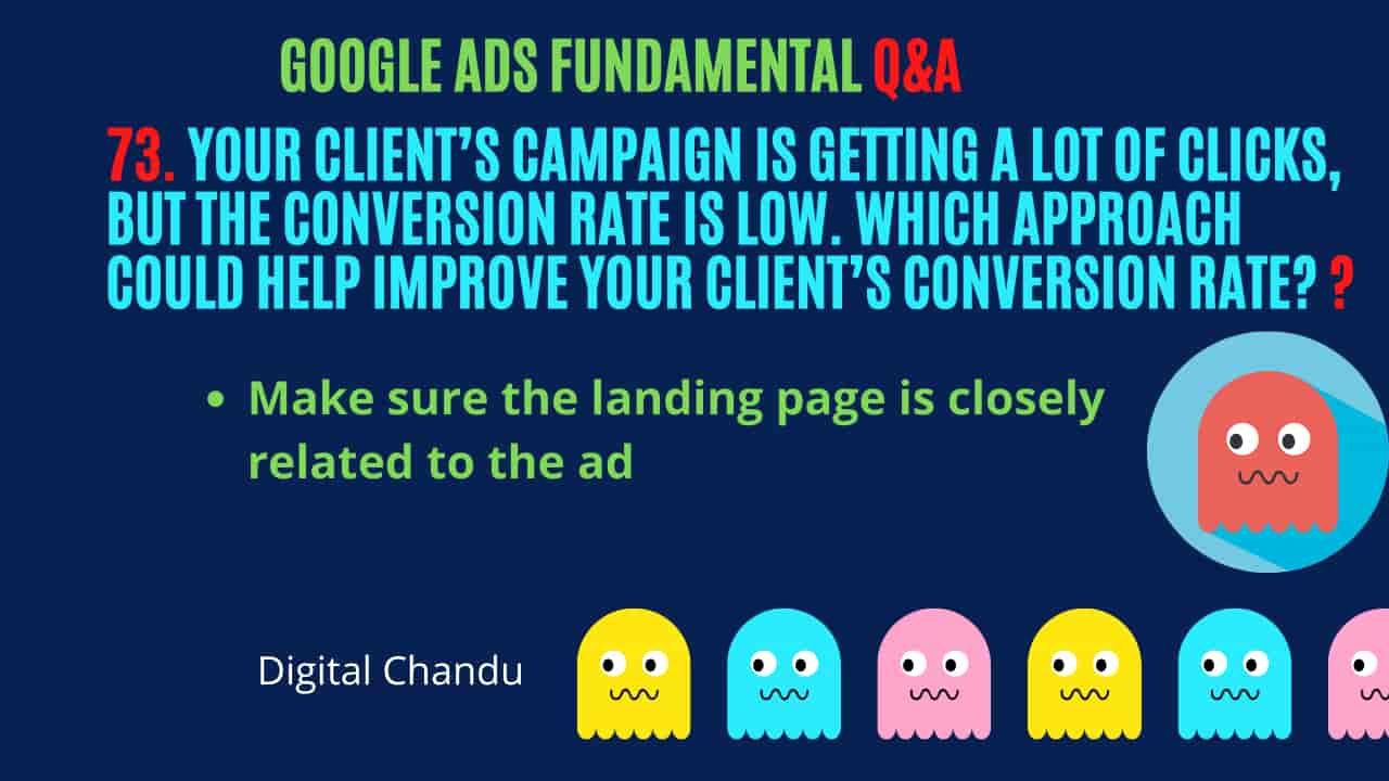 improve client's conversion rate