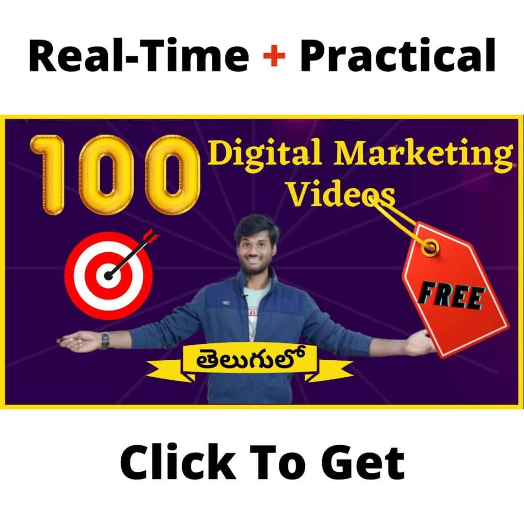 Digital Marketing In Telugu