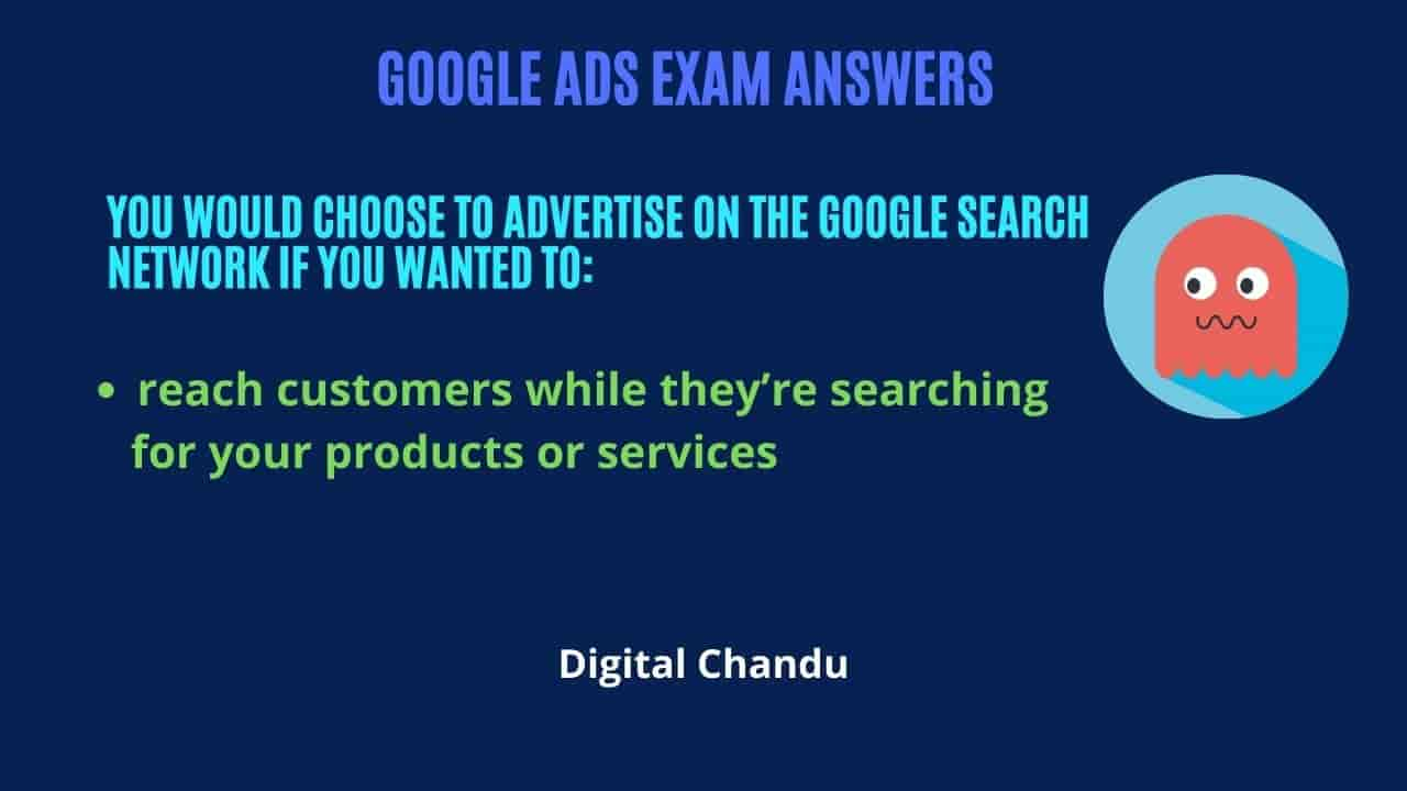 advertise on the Google Search