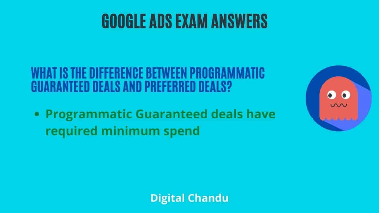 What is the difference between Programmatic Guaranteed deals and preferred deals?